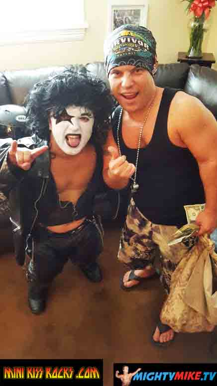Dwarf Mini Kiss Rocks party event little people birthday party suprise. Dwarf talent hire. Rock n Roll Midgets. Dance party Rock. Text/call 714-514-5514 or email mightymikemurga@me.com