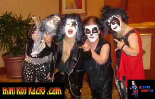 Rockin Los Angeles Mini Kiss Rocks Birthday Party!!#kiss#midget#mini#party#birthday#la#dwarf#celebration#littlepeople