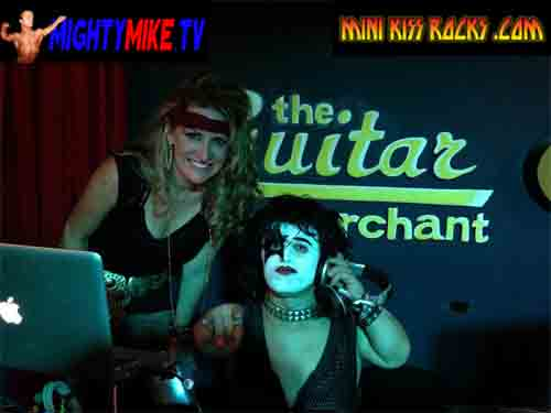 MINI KISS ROCKS - DJ MIGHTY MIKE MIDGET HIRE SPINNING DISC JOCKEY CALIFORNIA TO LAS VEGAS TO PHOENIX TO ROCK AND ROLL YOUR PARTY NIGHT TINY ENTERTAINMENT LITTLE PEOPLE CELEBRATE EVENING TOP 40 MUSIC MIX DANCE TUNES LADIES TWERK DANCING GOOD TIMES CALL-TEXT: 1-714-514-5514 EMAIL: MIGHTYMIKEMURGA@ME.COM